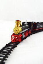 Zug Set Eisenbahn Schnellzug  Train Waggons Schienen Elektrische Selbstfahrend