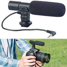Somikon Externes Mikrofon für Kameras & Camcorder mit 3,5-mm-Klinkenanschluss
