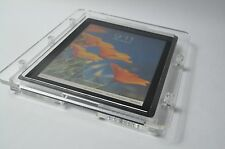 iPad Vesa Security Enclosure made by Clear Acrylic for Pos, Kiosk, Store Display