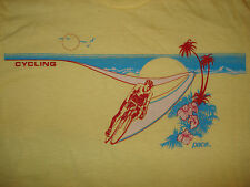 Vintage NOS 1970s PACE CYCLING JERSEY T SHIRT HAWAII Butter Soft BIKE Fixed SM