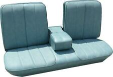 1966 CADILLAC DEVILLE STANDARD FRONT BENCH SEAT COVER with ARMREST 4 COLORS