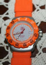 Tag Heuer Orange Formula 1 Ladies PROFESSIONAL 200 mm Swiss Watch QUARTZ EUC