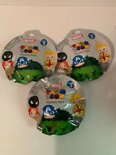 Lot of 3 Marvel Tsum Tsum Figures Pack Series 3 New Blind Bags