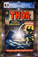 THOR 134 CGC 8.5 1ST APPEARANCE HIGH EVOLUTIONARY 1ST MAN-BEAST 1966 WHITE PAGES