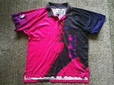 Nike Tech Challenge Court vintage tennis polo shirt M 1991 Agassi