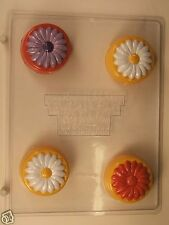 DAISY COOKIE MOLD CLEAR PLASTIC CHOCOLATE CANDY MOLD AO246