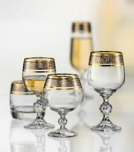 Bohemia Claudia Exclusive Whisky- Weißwein- Rotwein- Sekt- Likörgläser