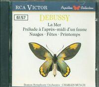 Debussy - La Mer/Prelude A L'Apres Midi D'Un Faune (Rca Victor) Cd Perfetto