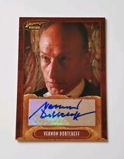 Topps Indiana Jones Heritage Autograph Card Vernon Dobtcheff