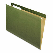 Pendaflex X Ray Hanging File Folders 13 Tab Legal Standard Green 25box 415313