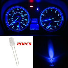 20x Blue 5mm Mini Bulbs Instrument Cluster Panel Gauge LED Light  for GMC Chevy