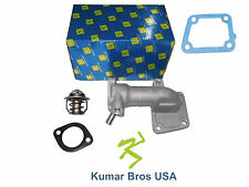 New Kumar Bros USA Water Flange & Thermostat with Gaskets For Bobcat T190