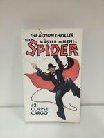THE SPIDER # 2: CORPSE CARGO by GRANT STOCKBRIDGE- 1st PRINT (1985) PAPERBACK c3