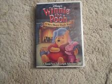 Winnie the Pooh - A Very Merry Pooh Year (DVD, 2002)Refurbished/Resealed/LN!