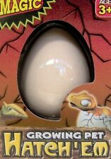 NEW LARGE GROWING PET DINOSAUR EGGS GROW DINO HATCHING HATCH EGG