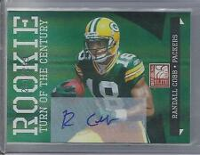 RANDALL COBB 2011 DONRUSS ELITE TURN OF THE CENTURY PACKERS AUTO RC #D 251/299