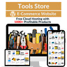 Tools Store Amazon Business Affiliate Dropshipping Website with 1000 Products
