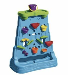 Step2 Waterfall Discovery Wall Double-Sided Outdoor Water Play Set