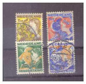 010602 Niederlande 1932 MNR 253/ 56 Voor het Kind gestempelt