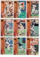 1995 Leaf Great Gloves 16 Card Set Ken Griffey Jr Barry Bonds Cal Ripken Maddux