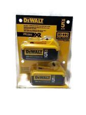 DeWalt DCB205 Premium XR Max 20V 5.0AH Lithium Ion Battery