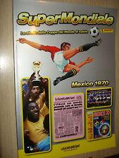 ALBUM PANINI SUPERMONDIALE STORIA DELLA COPPA DEL MONDO MEXICO 1970 MESSICO 70