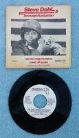 "1979 STEVE DAHL & TEENAGE RADIATION 7"" 45 RPM Vinyl DJ COPY Pic Sleeve OV-1132"
