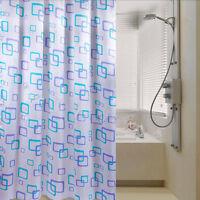 Duschvorhang Badezimmer Wasserdichtes Polyester-Gewebe-gelegentliches Muster C4