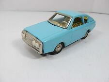 Vintage Pressed Steel Friction Modern Sedan Baby Blue China MF 234