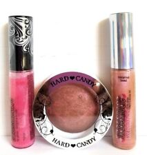 Lot of 3  HARD CANDY GLOSSAHOLIC Lip Gloss 835 Twist/369 TIPSY & Bombshell Blush