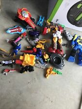 Lot Of Kids Power Ranger And Transformers Toys
