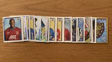 Merlin's Premier League 1998 Stickers - 27 Stickers - Amazing Condition