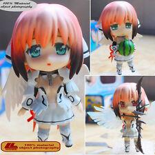 """Anime Sora no otoshimono Ikaros Nendoroid 178 4"""" Action Figure Face Change Toy"""