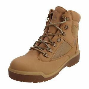 """Men's Timberland 6"""" F/L WATERPROOF FIELD BOOTS, TB0A1KT7 919 Mult Sizes LBrn/Tan"""