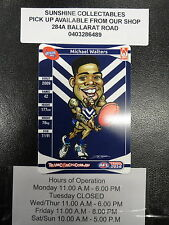 2014 AFL TEAMCOACH MAGIC WILD CARD MW-06 MICHAEL WALTERS FREMANTLE