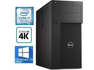 Dell Precision 3620 Tower PC i7 7700K 4.2GHZ 16G 512GB SSD Quadro M2000 Graphic