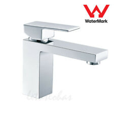 Modern Square Basin Tap Lavatory Counter Mixer Washroom Taps Chrome Brass Faucet