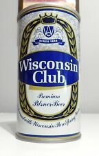 Wisconsin Club Bottom Opened Pull Tab Enamel USBC 135-16