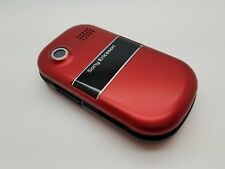 Rare Unlocked Sony Ericsson Z320i Red Mobile Phone