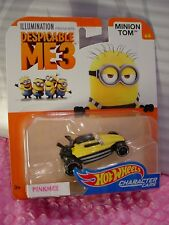 NEW ➽☀DESPICABLE ME 3☀MINION TOM 4/6☀2017 Hot Wheels☀iLLUMINATION☀Character Cars