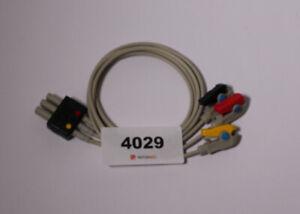 3- adriges Elektrodenkabel mit Klammern