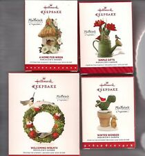 Hallmark Ornament MARJOLEIN'S GARDEN 2014 2015 2016 2017 Series 1-4 LOT