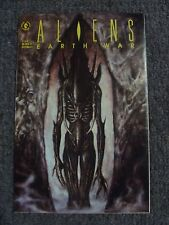 Aliens: Earth War #3 (1990) * Dark Horse Comics *