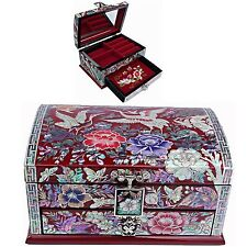 Jewelry Box Mother of Pearl Jewelry Organizer Jewelry Holder Craftsman 5201QR