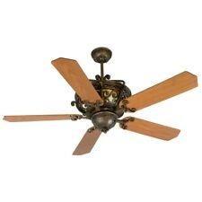"Craftmade Ceiling Fan, Peruvian Toscana, 52"" Custom Wood Walnut Blades - K10766"