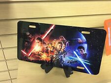 STAR WARS THE FORCE AWAKENS: Novelty Vanity License Plate, (NEW)