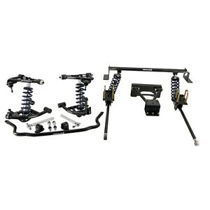 Ridetech Complete Coilover System,Fits 1982-2003 Chevrolet S10,GMC S15,TruTurn