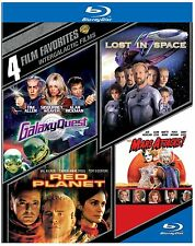 GALAXY QUEST /RED PLANET/ MARS ATTACKS/LOST IN SPACE   -  Blu Ray - Region free