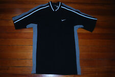 Men's Nike Basketball Silver/Black Button Warm Up Shirt (X-Large) Spurs Colorway