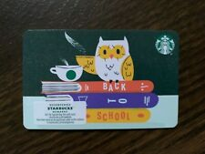 "Canada Series Starbucks ""BACK TO SCHOOL 2020"" Recyclable Card - New No Value"